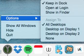 Allow on all desktops