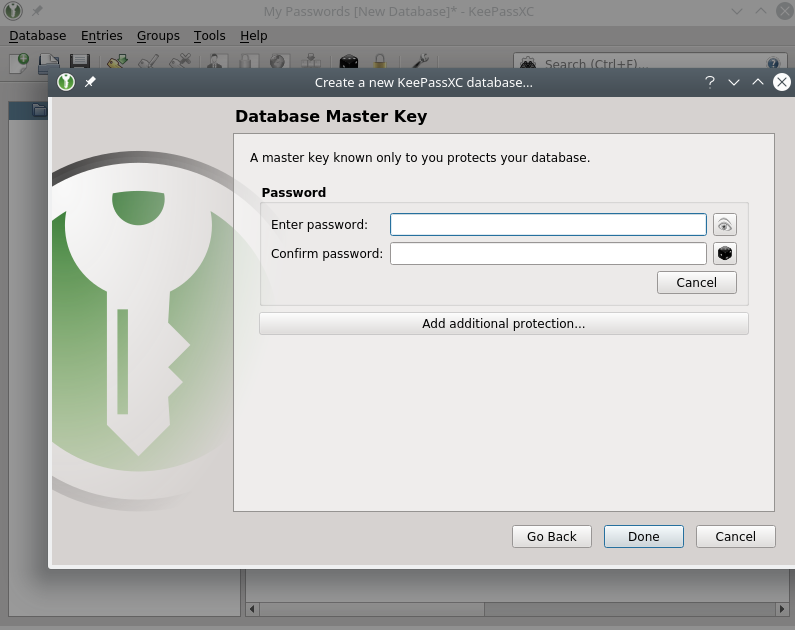 Getting Started With KeePassXC   Prevent Default