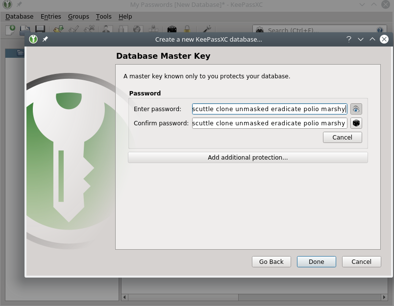 Getting Started With KeePassXC | Prevent Default